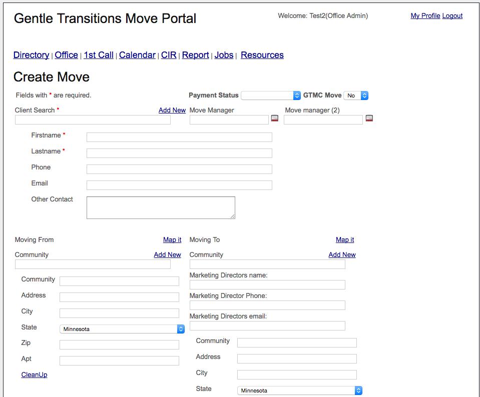 Portal   Create Move